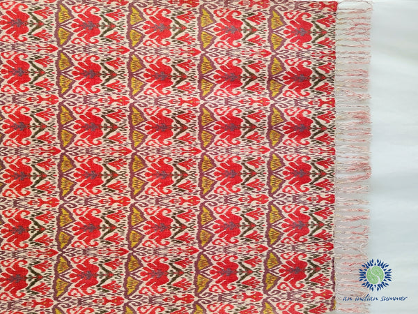 Bukhara Throw Khadi Cotton Handloom Woven | An Indian Summer | Seasonless Timeless Sustainable Ethical Authentic Artisan Conscious Clothing Lifestyle Brand