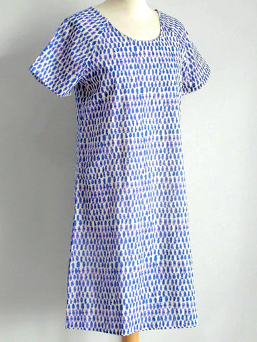 Laguna Blue Shift Dress