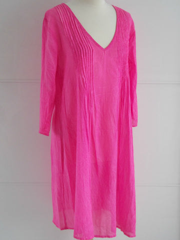 Penelope Dress - Pink - An Indian Summer