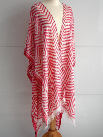 Malorie Wrap - Red