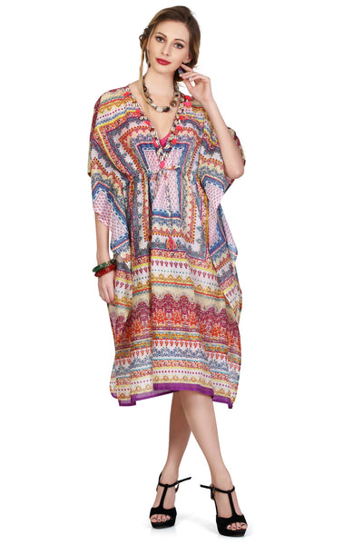 Millefiori Kaftan - An Indian Summer