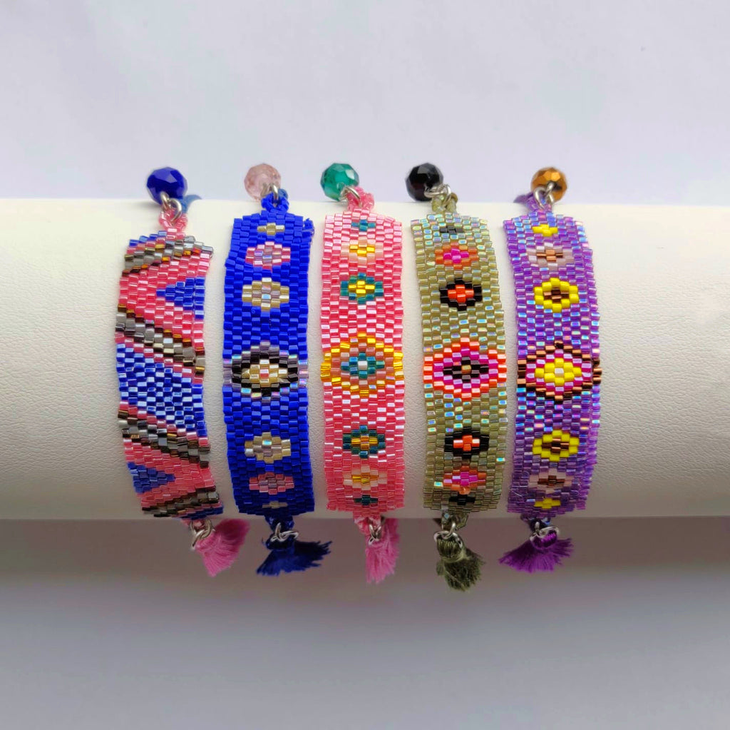 Ibiza Style Boho Statement Bracelets - An Indian Summer