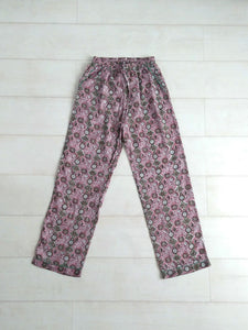 Mosaic Trousers - Mauve - An Indian Summer