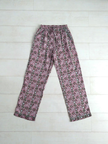 Mosaic Pyjama Bottoms - Mauve