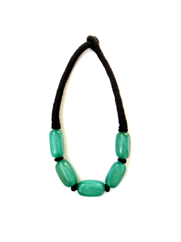 Paloma Necklace - Jade Green