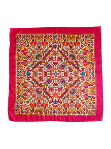 Casablanca Silk Square Scarf - An Indian Summer