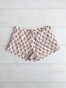 Pippa Shorts - Crimson - An Indian Summer