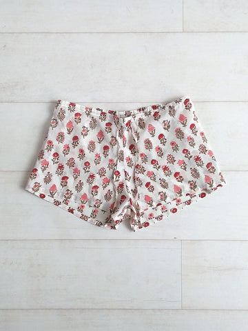 Pippa Shorts - Crimson