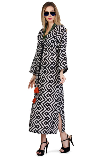 Santorini Maxi Dress - Black - An Indian Summer