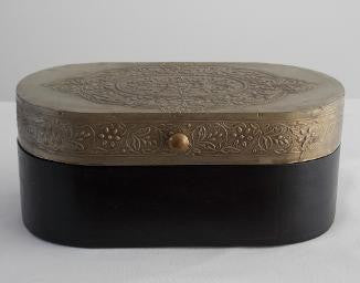 Embossed Wooden Box - An Indian Summer