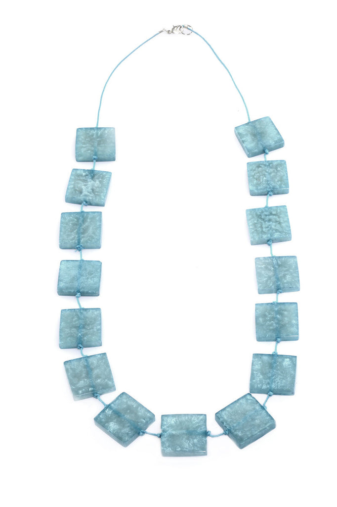 Athena Necklace - Blue - an indian summer