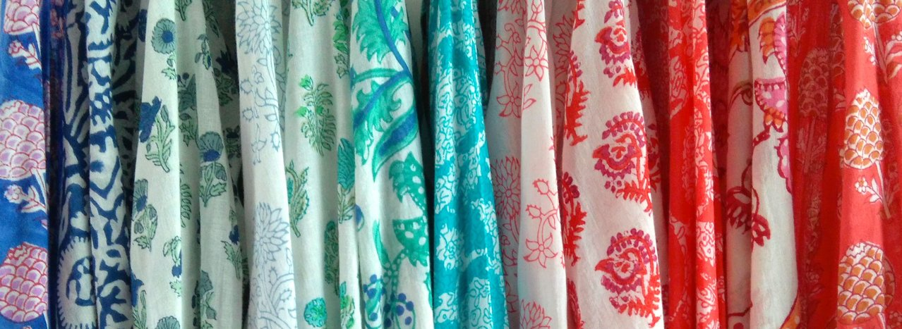 An Indian Summer Hand Block Printed Tops