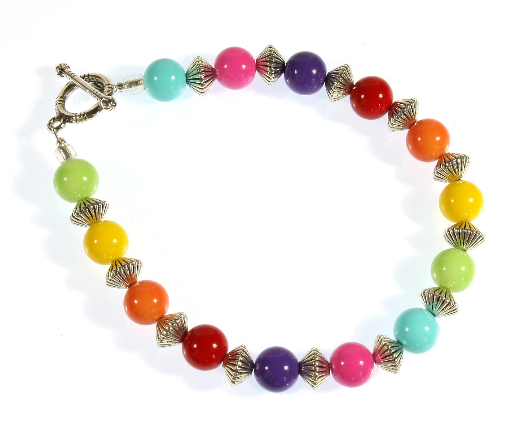 """All the Colors of the Rainbow"" Bracelet"