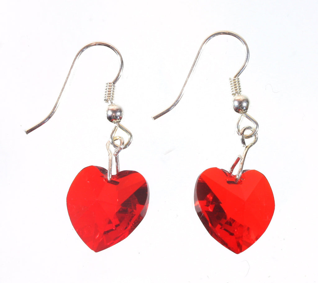 "Swarovski Red Heart Earrings Will You Be My Valentine?"" Style-ARThouse"