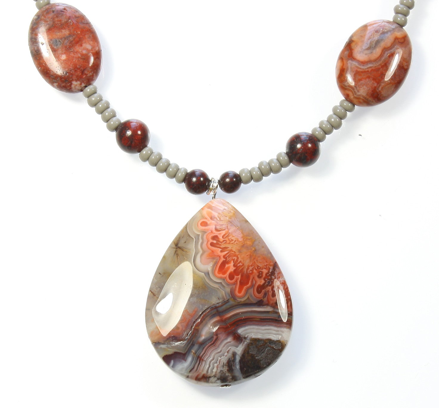 Designs from the earth crazy lace agate pendant necklace 23 crazy lace agate necklace designs from the earth style arthouse aloadofball Choice Image