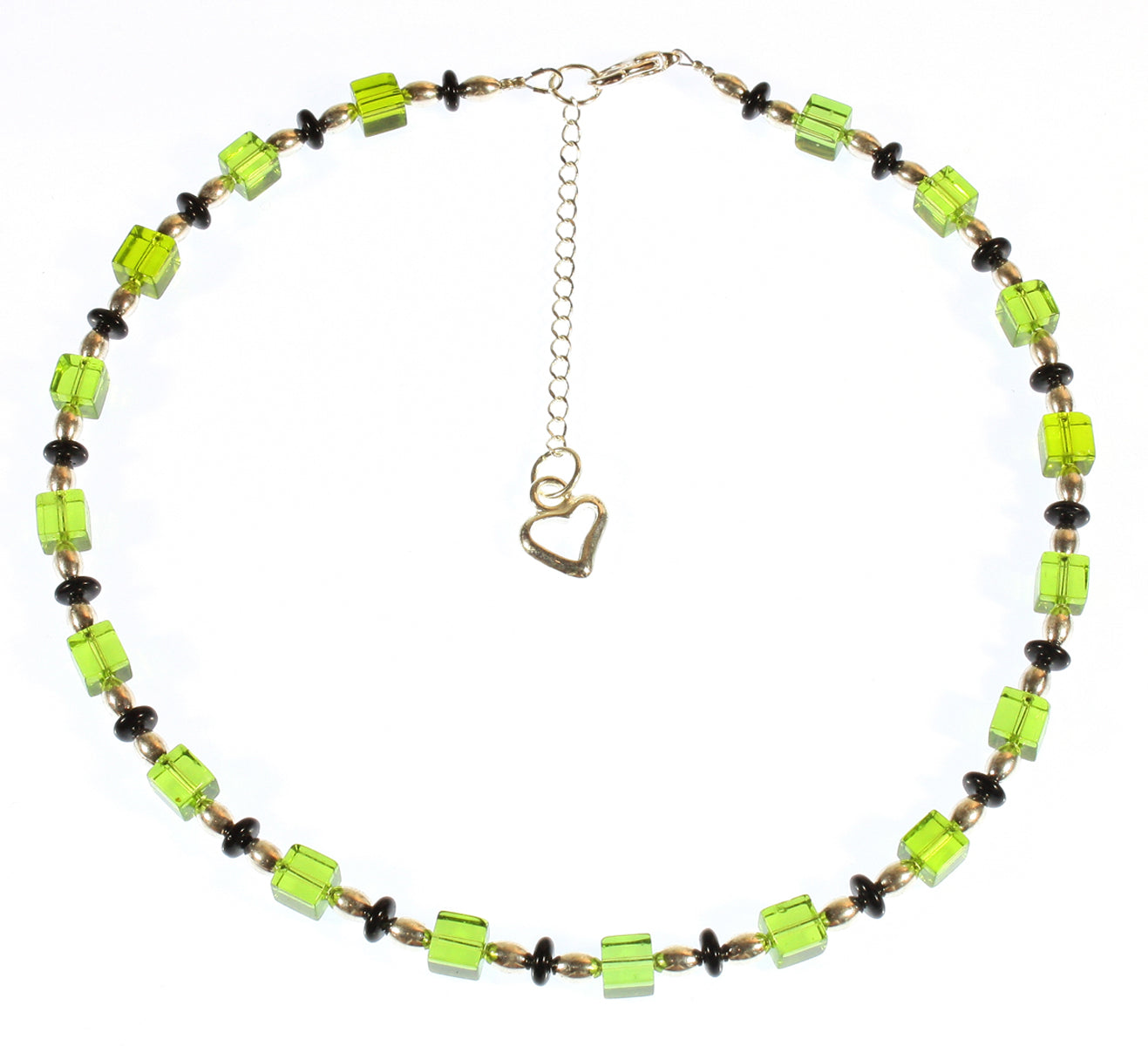 """Gin and Tonic on the Rocks"" Choker Necklace, 16 Inches"