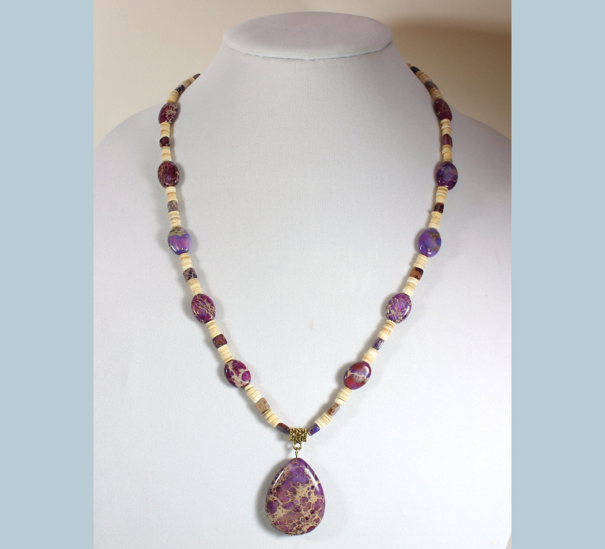 "Purple Jasper Necklace ""Irresistable"" Style-ARThouse"