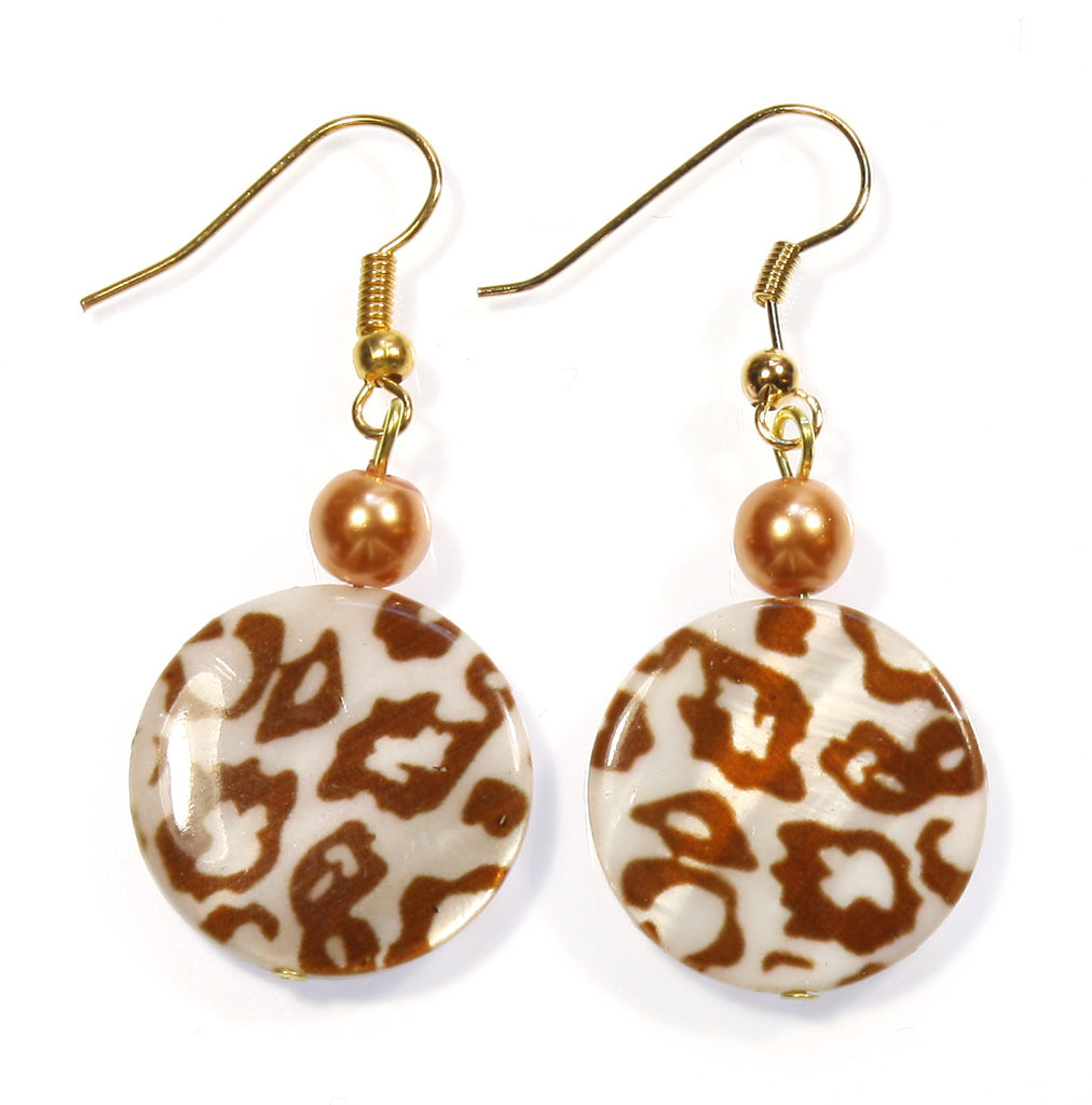 "Animal Print Earrings ""On the Hunt"" Style-ARThouse"