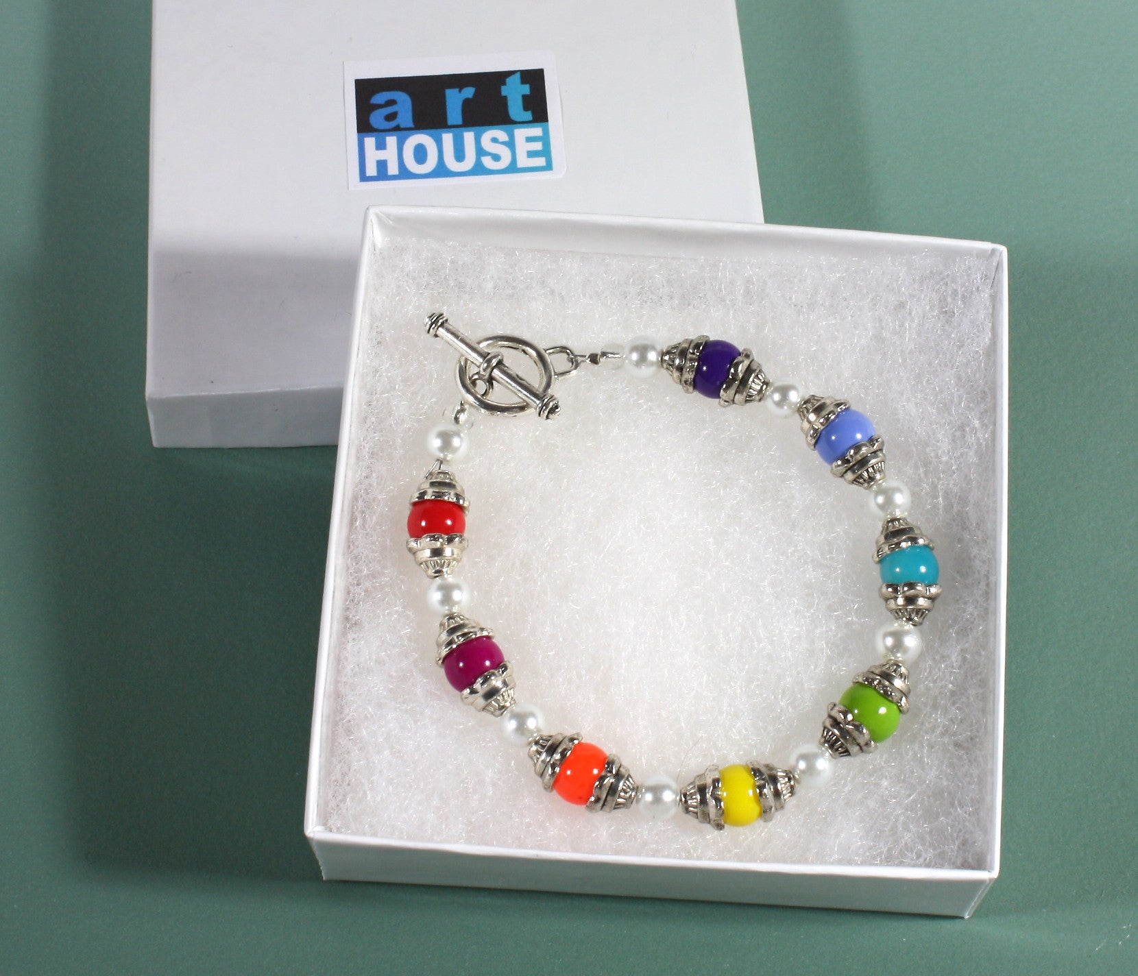 "Rainbow Color Bracelet ""The Charm of Color"" Style-ARThouse"