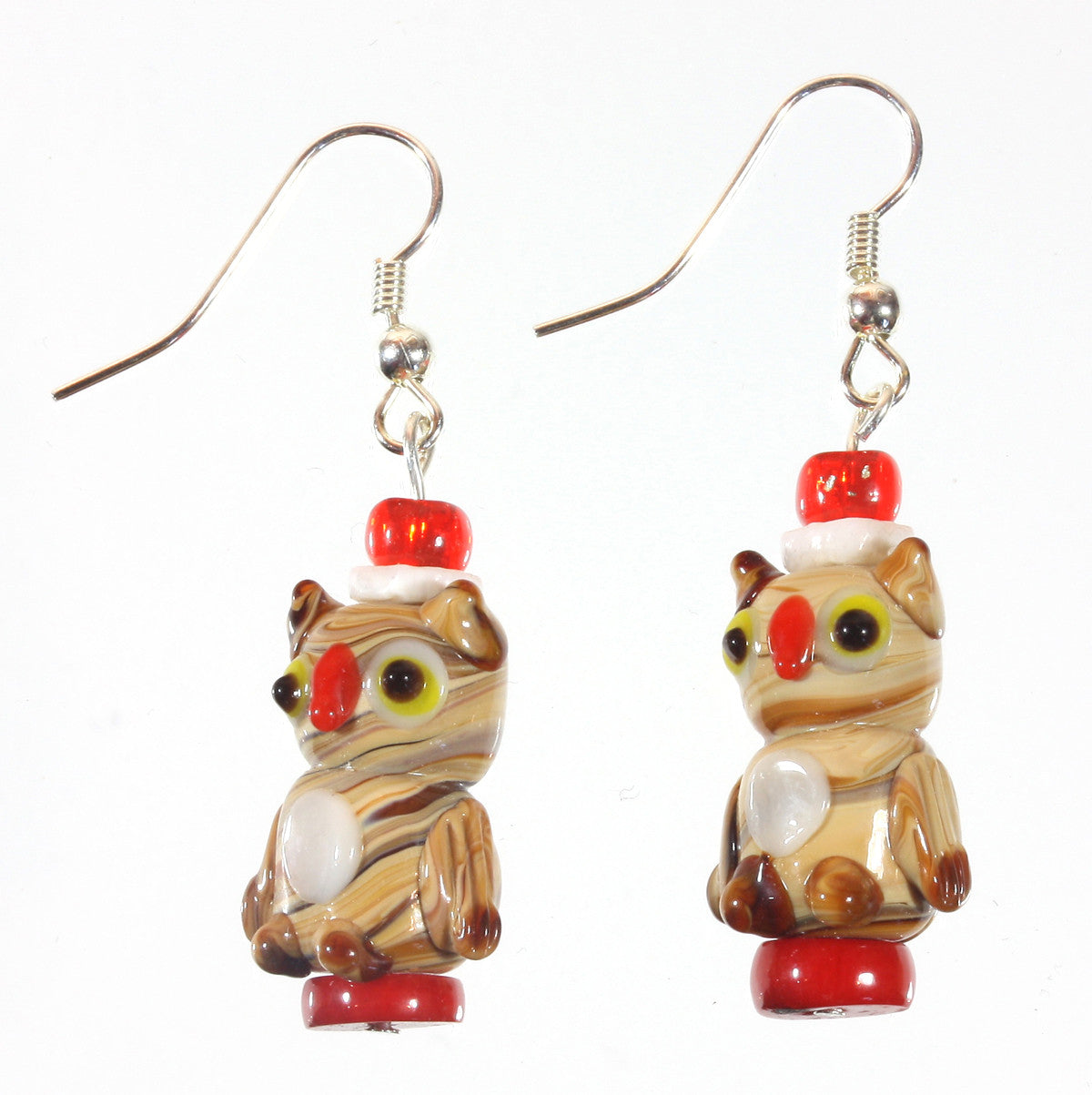 "Little Owl Earrings ""The Little Professor"" Style-ARThouse"