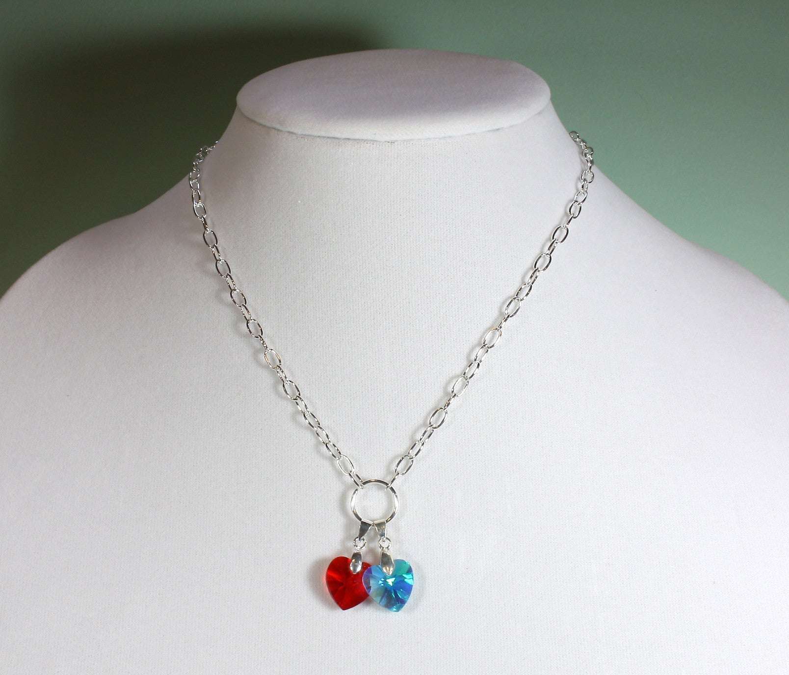 "Two Hearts Entwined Necklace ""Together"" Style-ARThouse"
