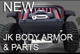 BTF Jeep JK Body Armor and Parts