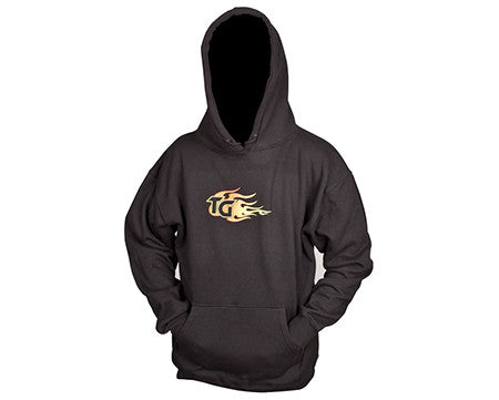 150574-KIT  Hooded Sweatshirt Black - Adult Large