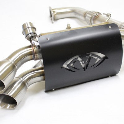 """CAPTAIN'S CHOICE"" 3″ TURBO BACK CUT OUT EXHAUST"