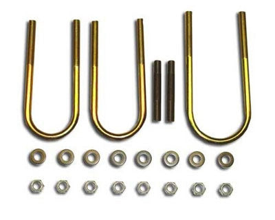 BTF Dana 60 Front U-Bolt Kit with Studs (Chevy) BTF13054