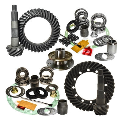 1991-1997 Toyota Land Cruiser 70 & 80 Series without E-locker, 4.56 Ratio, Nitro Front & Rear Gear Package Kit GPFJ80-4.56-1