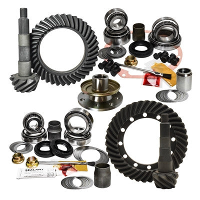 1991-1997 Toyota Land Cruiser 70 & 80 Series with OEM E-locker, 5.29 Ratio, Nitro Front & Rear Gear Package Kit GPFJ80-5.29-2
