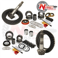 2005-2015 Toyota Tacoma without E-Locker, 4.56 Ratio, Nitro Front & Rear Gear Package Kit GPTACO05PLUS-4.56