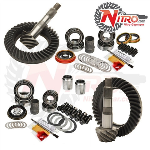1995.5-2004 Toyota Tacoma without E-Locker, 2000-2006 Tundra, 4.88 Ratio, Nitro Front & Rear Gear Package Kit GPTACO96-04-4.88