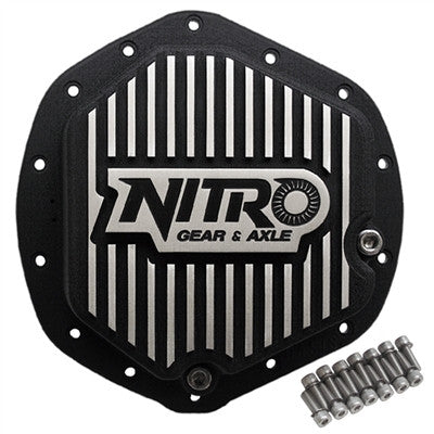 "AAM 11.5"" & 11.8"", GM & Dodge, Nitro Finned Aluminum Differential Cover NPCOVER-AAM11.5"