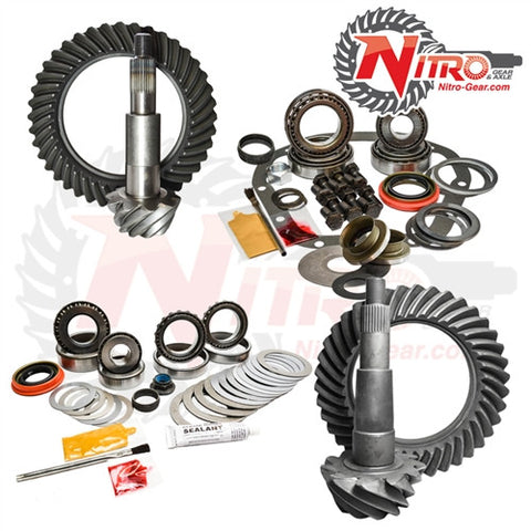 2002-2010 Ford F-250 & F-350 Super Duty, 4.56 Ratio, Nitro Front & Rear Gear Package Kit GPSD02-10-4.56