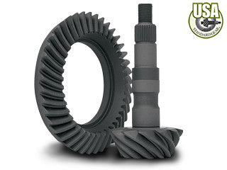 "USA Standard Ring & Pinion gear set for GM 9.5"" in a 4.56 ratio"