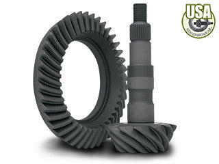 "USA standard ring & pinion gear set for GM 7.5"" in a 3.23 ratio"