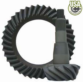 "USA standard ring & pinion gear set for Chrysler 8"" in a 3.90 ratio."