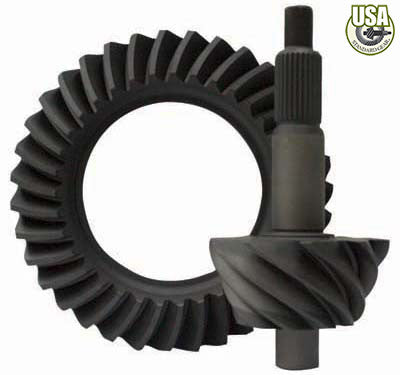 "USA Standard Ring & Pinion gear set for Ford 9"" in a 5.13 ratio"
