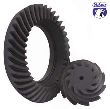 "High performance Yukon Ring & Pinion gear set for Ford 8.8"" in a 4.11 ratio"