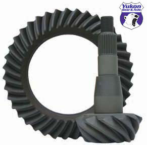 "High performance Yukon Ring & Pinion gear set for Chrylser 9.25"" front in a 4.56 ratio"