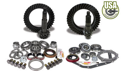 USA Standard Gear & Install Kit package for Standard Rotation D60 & ‰۪88 & down GM 14T, 5.38 ratio