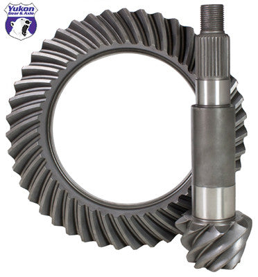 High performance Yukon replacement Ring & Pinion gear set for Dana 50 Reverse rotation in a 5.38 ratio