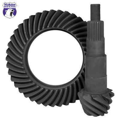 "High performance Yukon Ring & Pinion gear set for Ford 7.5"" in a 3.08 ratio"