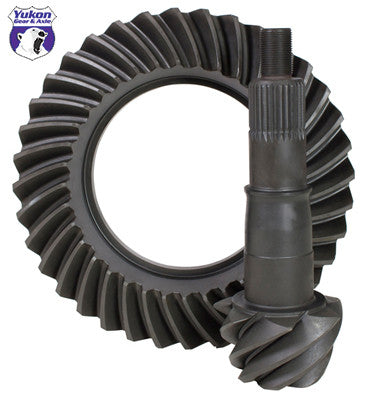 "High performance Yukon Ring & Pinion gear set for Ford 8.8"" Reverse rotation in a 3.73 ratio"