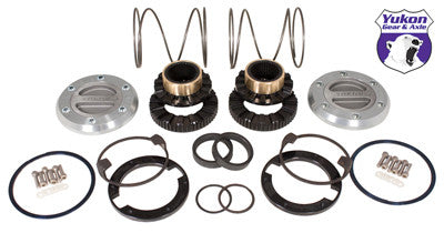 Yukon Hardcore Locking Hub set for Dana 44, GM & Ford 1/2 & 3/4 ton, 19 spline