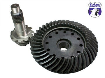 High performance Yukon replacement ring & pinion gear set for Dana S111 in a 4.11 ratio.