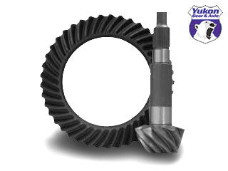 "High performance Yukon ring & pinion gear set for '10 & down Ford 10.5"" in a 4.56 ratio."