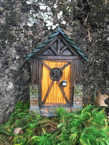Door, Wood Fairy or Gnome Door