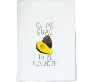 Guac Flour Sack Kitchen Tea Towel